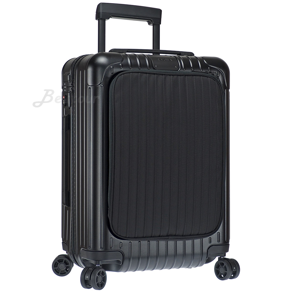 Rimowa Essential Sleeve Cabin 20吋登機箱 (霧黑色)