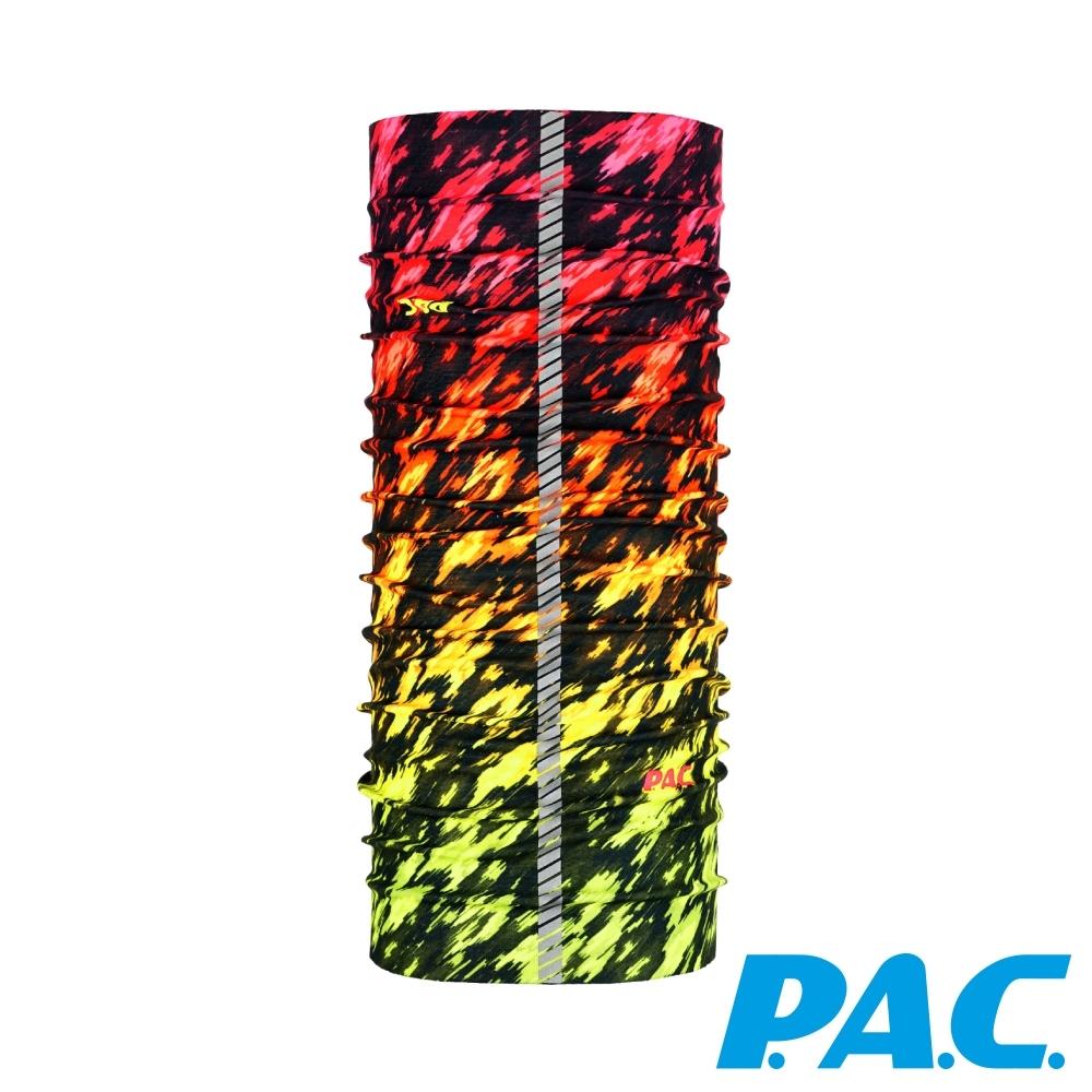 【PAC德國】3M反光頭巾透氣抗菌抗臭快乾PAC8840294彩色迷彩