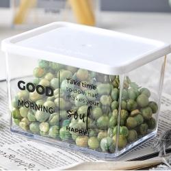 E.dot  透明儲物收納保鮮盒-370ml