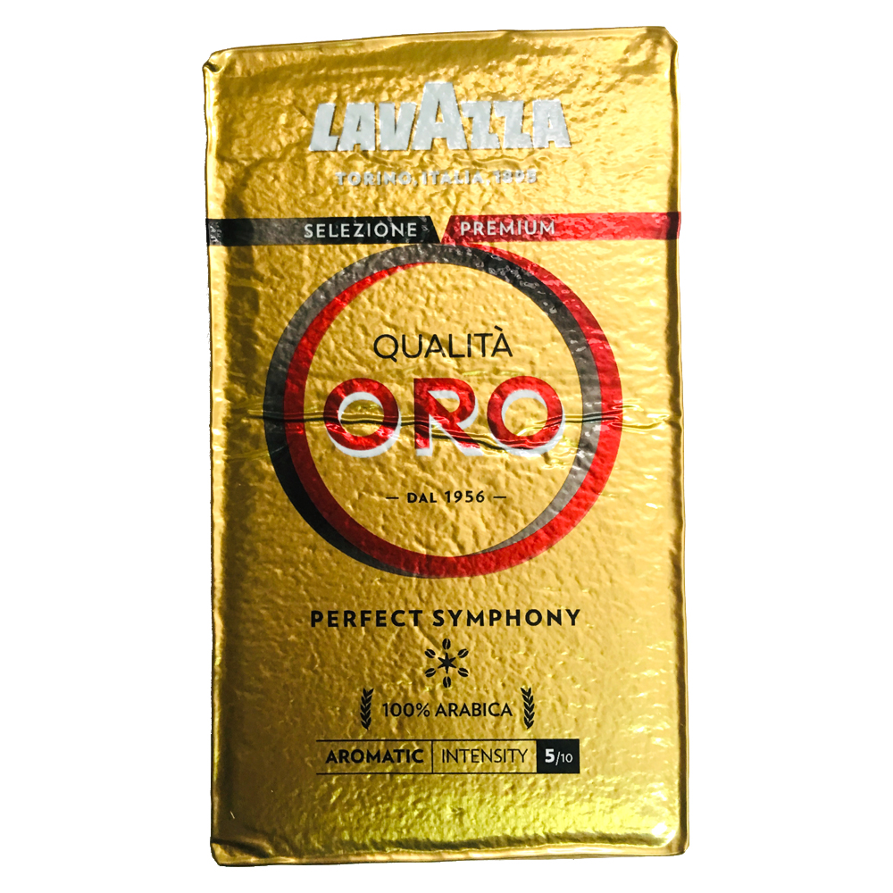 LAVAZZA QUALITA ORO 金牌咖啡粉(鋁箔包4包)
