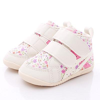 亞瑟士SUKU2機能鞋 護踝穩定款 ON11-65F白粉(寶寶段)