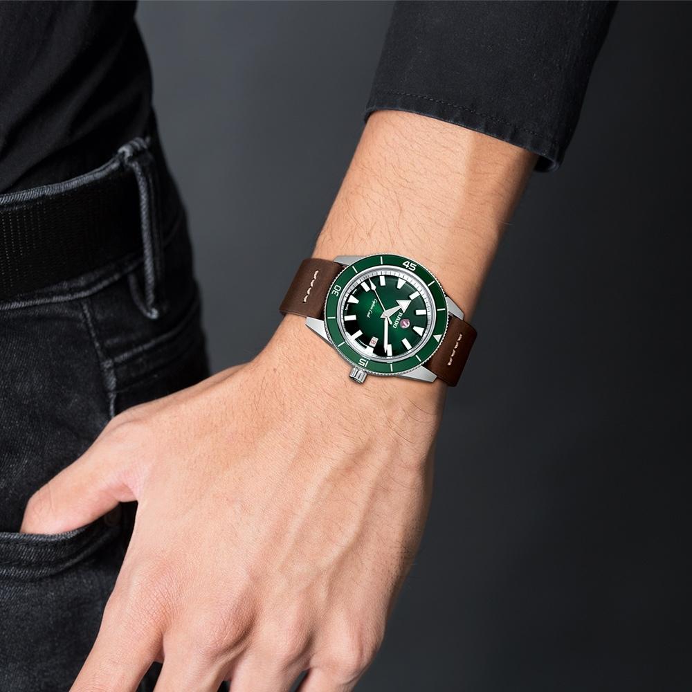 RADO 雷達錶 庫克船長自動機械腕錶(R32505315)