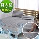 鴻宇 雙人+枕墊2入 水洗6D透氣循環墊 可水洗 矽膠防滑 product thumbnail 1