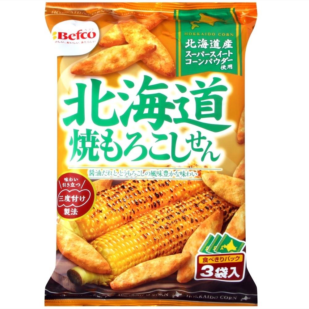 栗山 北海道烤玉米米果(54g)