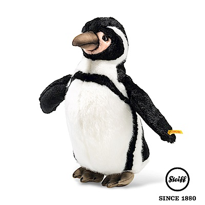 STEIFF德國金耳釦泰迪熊 企鵝 Humboldt Penguin(動物王國)