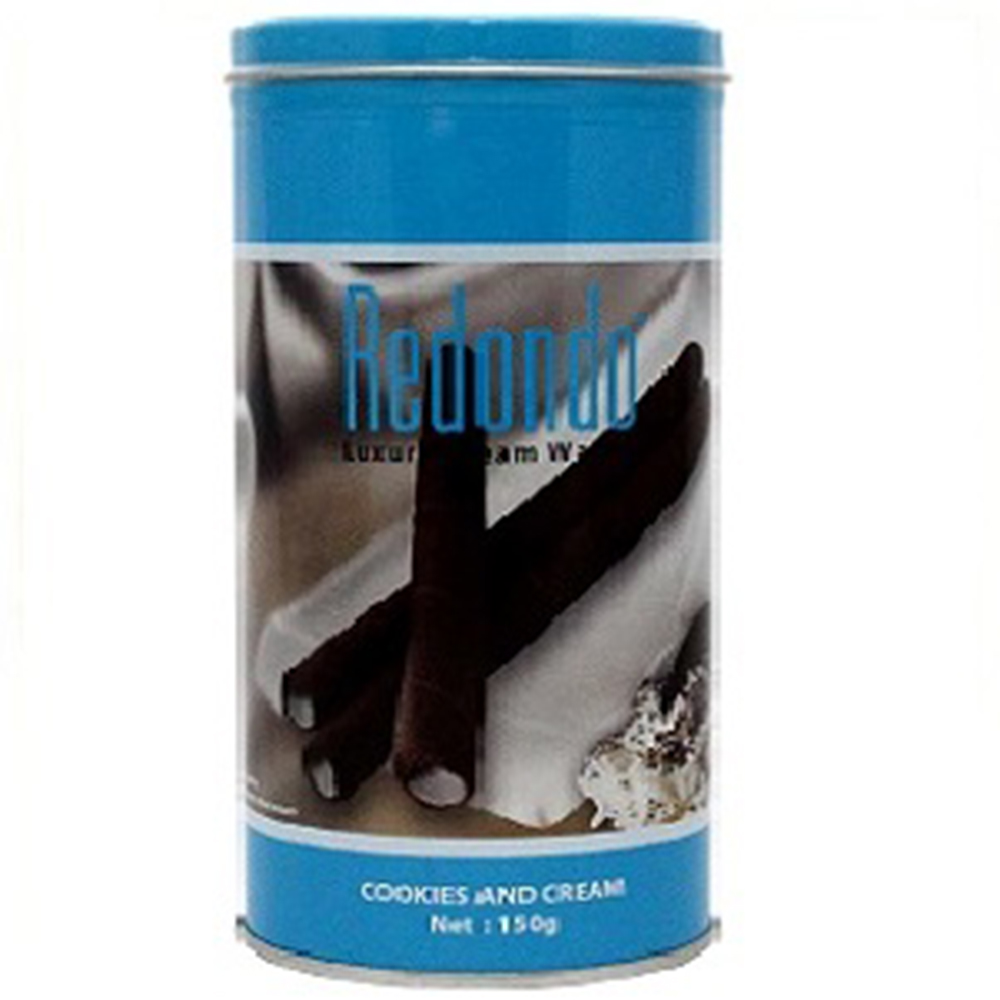瑞登 捲心酥系列-曲奇奶油口味(400g)
