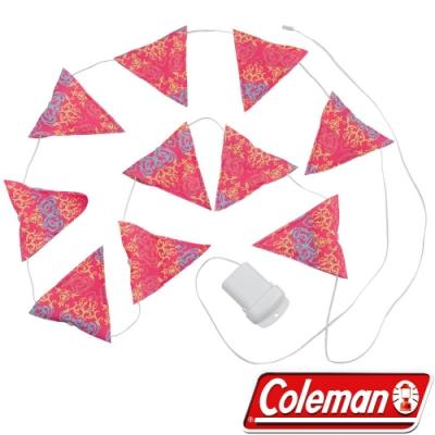 Coleman 22289粉紅 LED串燈 聖誕燈飾/露營裝飾燈/戶外警示燈