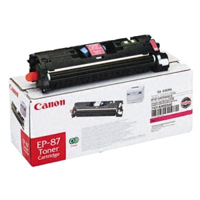 佳能 Canon EP-87M 紅色碳粉匣