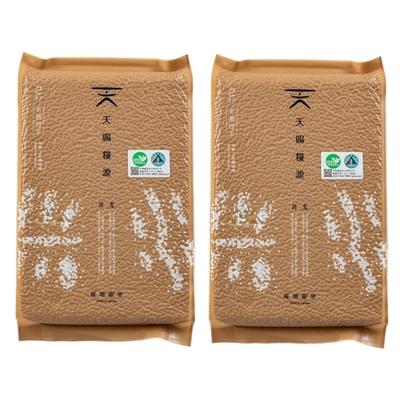 【天賜糧源】天賜糧源有機糙米2kg/2包