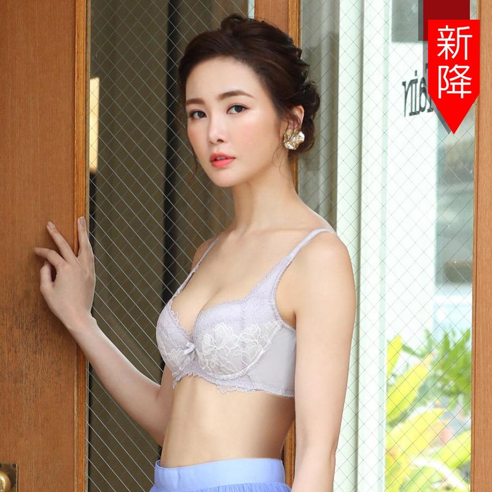 曼黛瑪璉 Hibra大波內衣 E-G罩杯(泡泡紫)