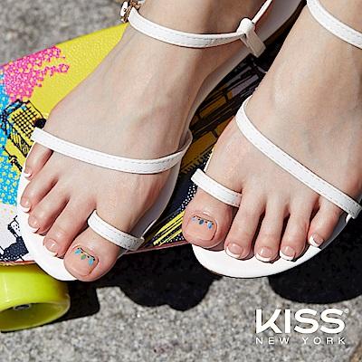 KISS New York-Press&Go足部指甲貼片-波西米亞狂想曲(KPT07K)