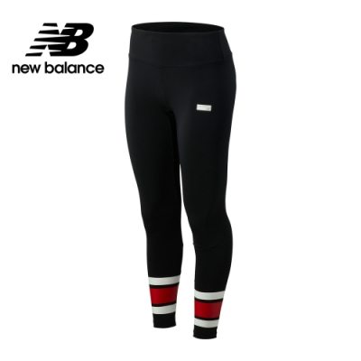 New Balance棒球系列撞色緊身褲_女_黑色_AWP93521BK