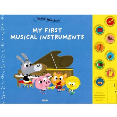 My First Musical Instruments 第一本音樂書:樂器篇