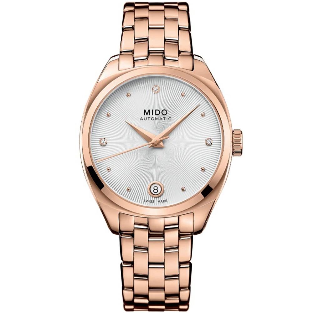 MIDO美度 Belluna Royal雋永系列真鑽機械女錶(M0243073303600)