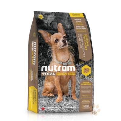 【NUTRAM】紐頓T28無榖挑嘴全齡迷你犬(鮭魚+鱒魚)3lb/1.36kg