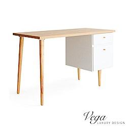 Vega 沃克雙抽書桌/電腦桌/工作桌(2色)