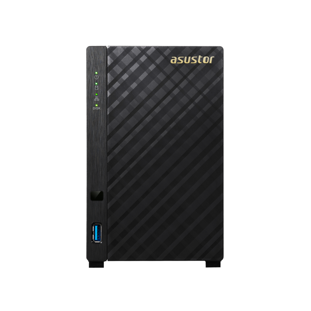 【促銷組合】ASUSTOR華芸 AS1002T v2+Seagate 4TB*2