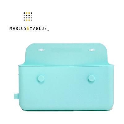 【MARCUS&MARCUS】輕巧矽膠餐具收納袋-湖水綠