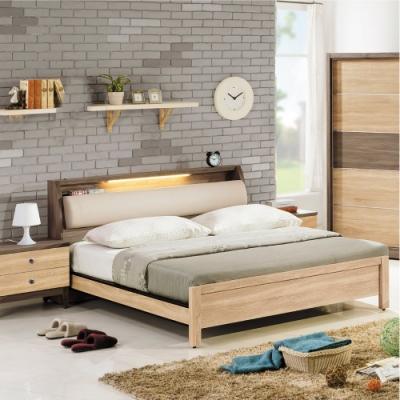 AS-艾妮可雙人5.2尺床箱式床台-157.6x222.4x91.2cm