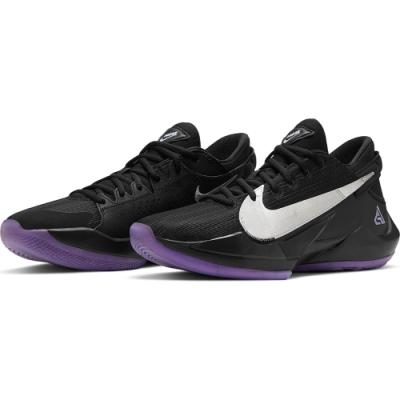 NIKE 籃球鞋 字母哥 運動鞋 緩震 包覆 男鞋 黑紫 CK5825005 ZOOM FREAK 2 EP