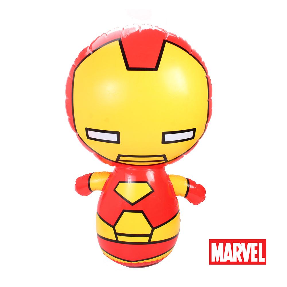 《凡太奇》漫威Marvel 90CM鋼鐵人充氣不倒翁 Z70090-I1-速