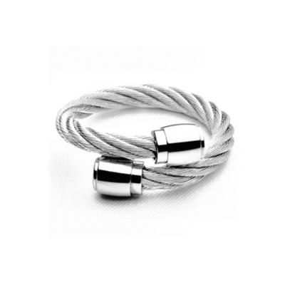CHARRIOL 夏利豪 RING CELTIC SCEAU 系列 經典鋼索戒指(020100144S)