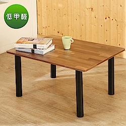BuyJM工業風低甲醛鐵腳茶几桌/和室桌(80*60公分)-DIY
