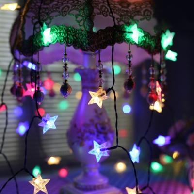 半島良品 IG爆款派對布置 耶誕聖誕燈飾燈串3米(B)- 星星水晶