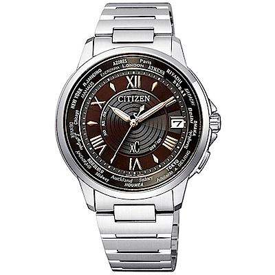 CITIZEN 星辰xC 世界時間電波對時錶(CB1020-71X)