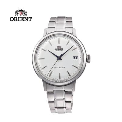 ORIENT 東方錶 DATEⅡ系列 機械錶 鋼帶款 銀色 RA-AC0009S