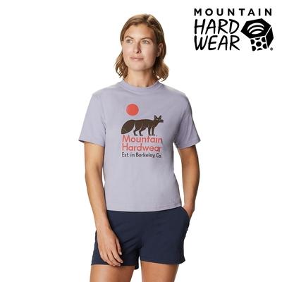 【美國 Mountain Hardwear】J-Tree Desert Fox T 沙漠狐狸印花短T 女款 冷霜灰 #1927971