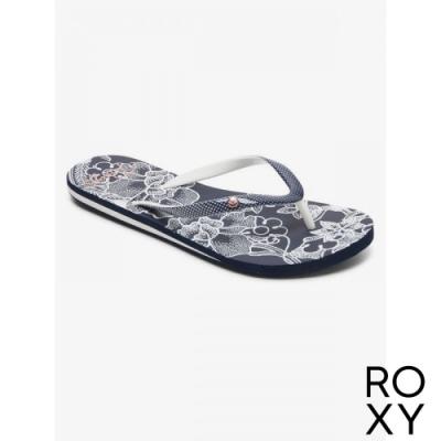 【ROXY】PORTOFINO III 夾腳拖 海軍藍
