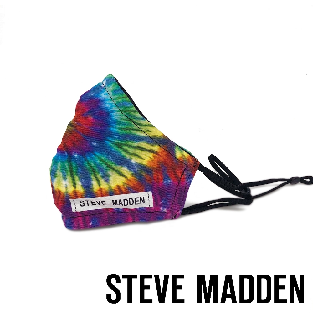 STEVE MADDEN-摩登款 時尚品牌銀離子口罩-彩虹