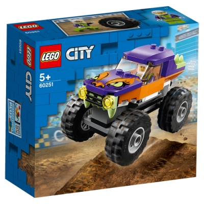 樂高LEGO 城市系列 - LT60251 怪獸卡車