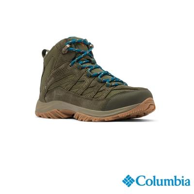 Columbia 哥倫比亞 女款- Omni-Tech 防水高筒登山鞋-抹茶綠 UBL53710MI