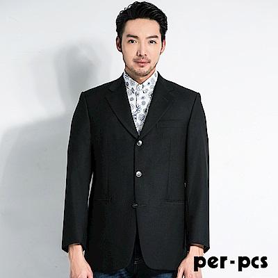 per-pcs 優雅品味羊毛織紋舒適西裝外套(708519)