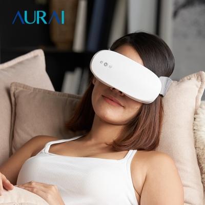 (限時優惠)Aurai 即熱敷水波式按摩眼罩