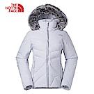 The North Face北面女款淺灰色保暖防護滑雪外套|3KQJ9B8
