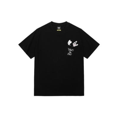 CACO-兔巴哥口袋落肩T-男【SWB017】