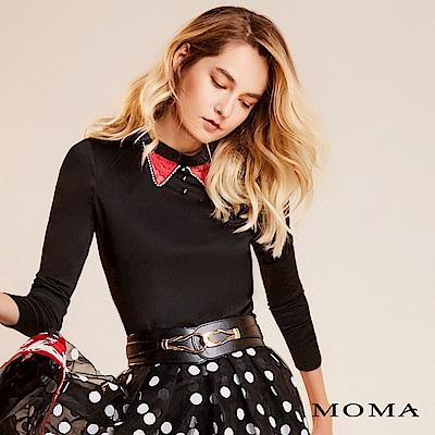 限時商品 | MOMA 蕾絲領長袖上衣