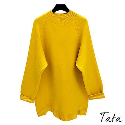 長版針織上衣 共三色 TATA