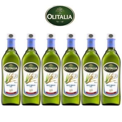 (活動) Olitalia 奧利塔玄米油禮盒組(750mlx6瓶)