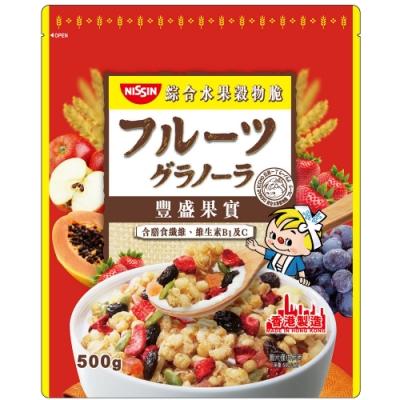 日清 豐盛果實綜合水果穀物脆(500g)