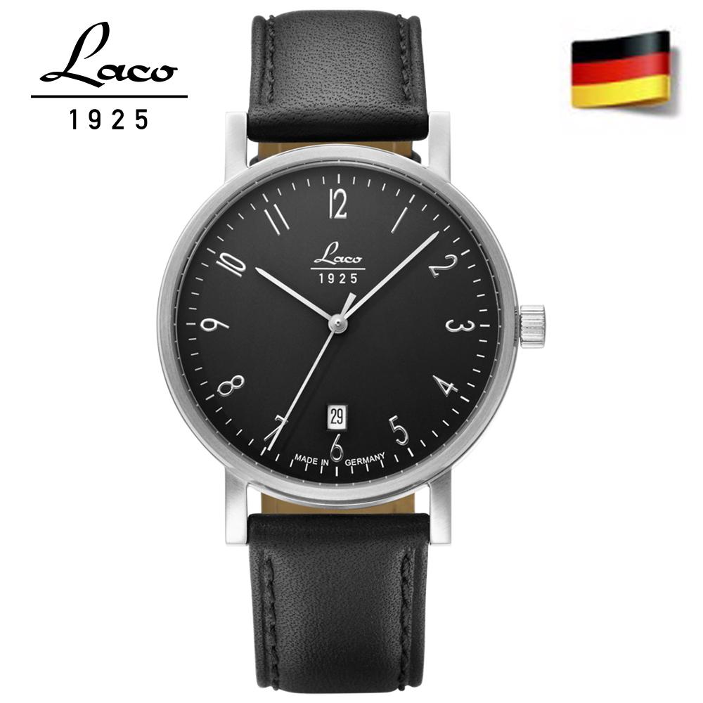Laco 朗坤 862068 德國工藝JENA40經典系列自動機械表 男錶40mm