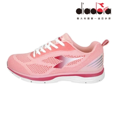 Diadora 女輕量慢跑鞋 粉 DA9AWR7012