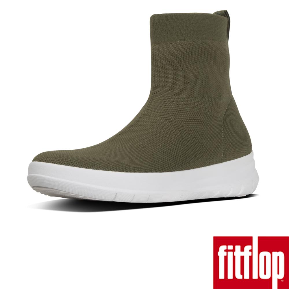 FitFlop ÜBERKNIT SOCK BOOTS-灰綠色