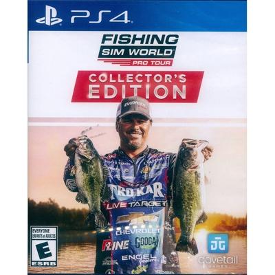 釣魚模擬世界: 職業巡迴賽 典藏版 Fishing Sim World Pro Tour Collector s Edition- PS4 英文美版