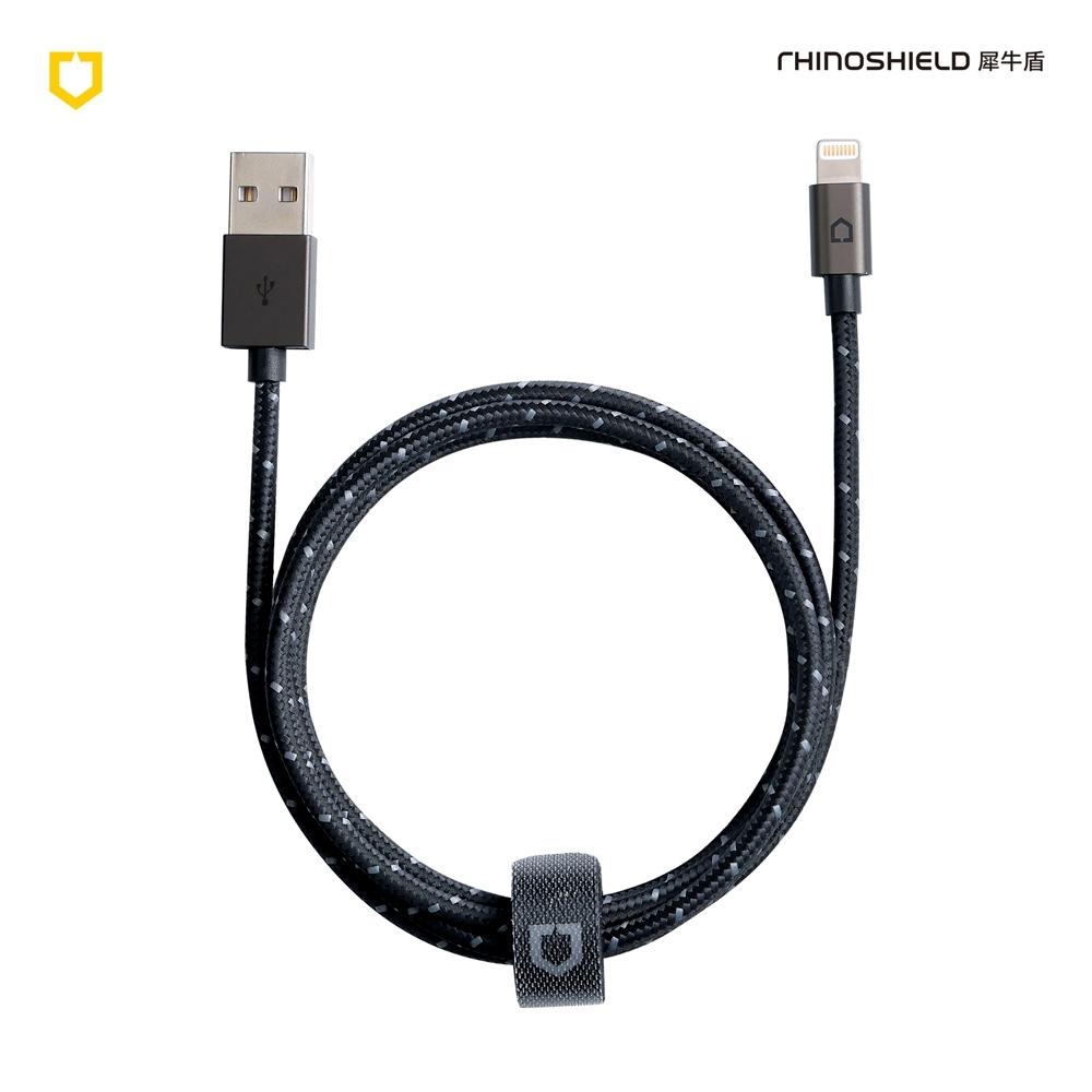 犀牛盾耐折編織充電傳輸線 MFi Lightning Cable - 3公尺