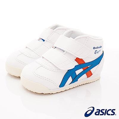 亞瑟士Onitsuka TIGER機能鞋 護踝穩定款100白(寶寶段)
