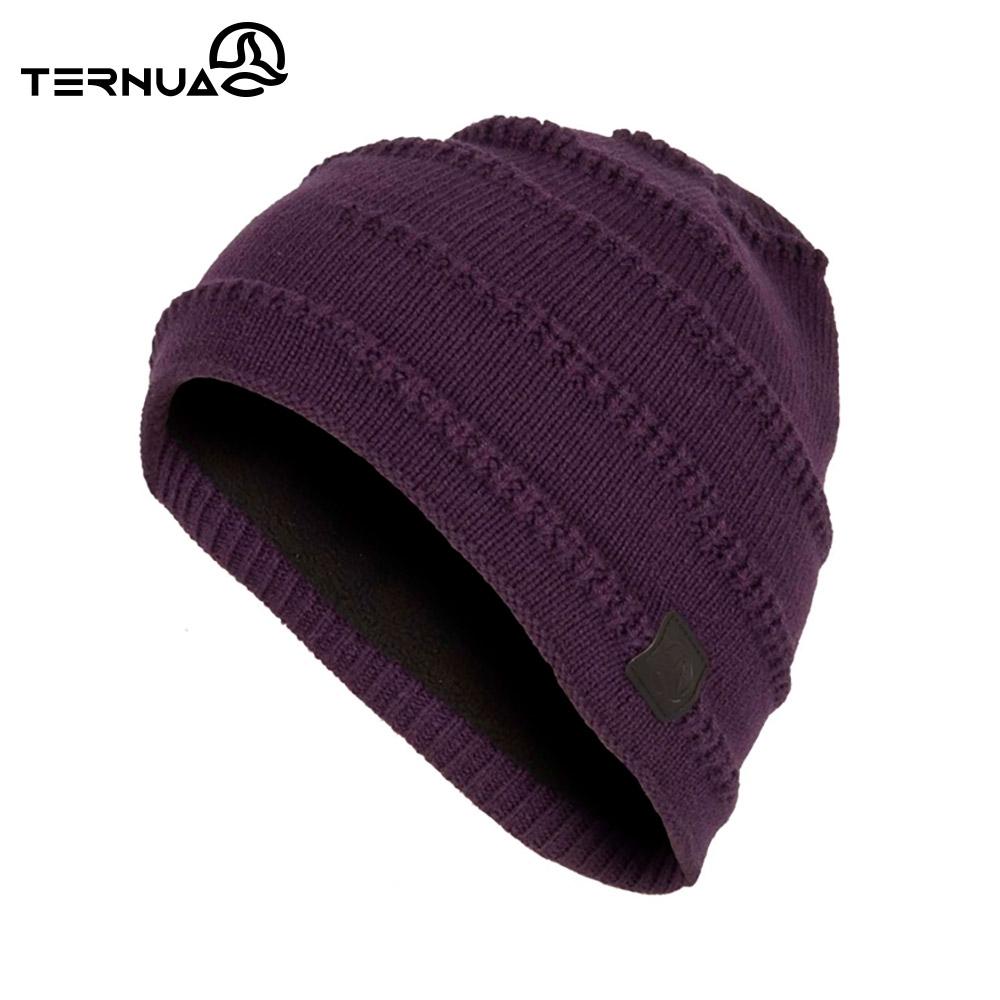 TERNUA 美麗諾羊毛保暖毛帽2661663【深紫】